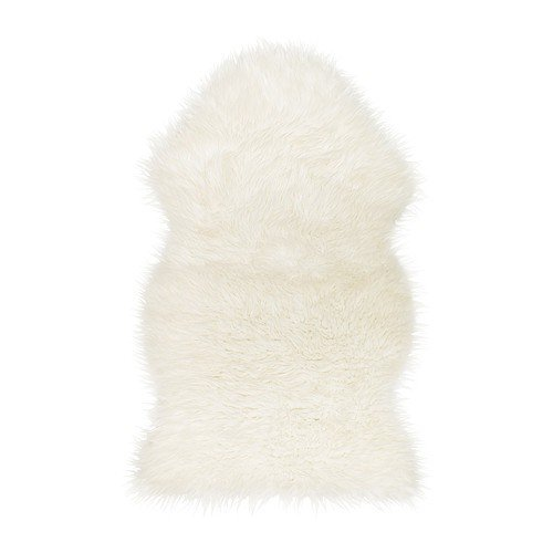 Rocker Dog Lambswool - Ikea 302.290.77 Tejn faux sheepskin, Ivory