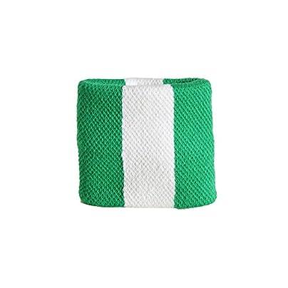 Digni reg Nigeria Wristband sweatband set pieces free sticker Estimated Price £6.95 -