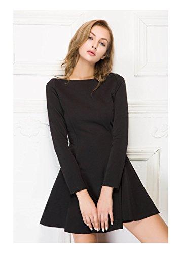 Women Night Club Short Dress (XL, #1 Black)