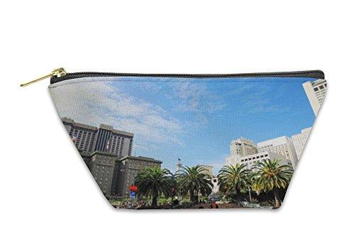 Gear New Accessory Zipper Pouch, Union Square In San Francisco California USA, Small, - Sf Stores In Union Square