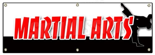 Review 72″ MARTIAL ARTS BANNER