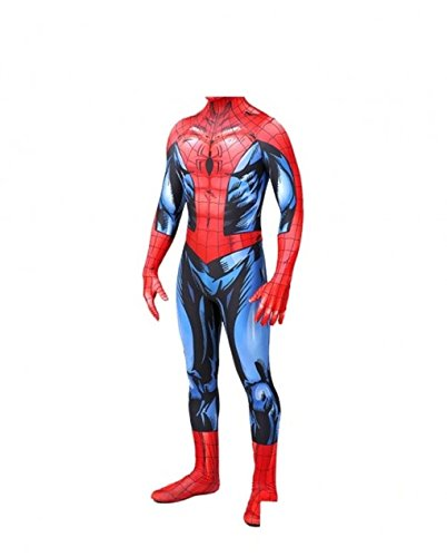 AestheticCosplay Bagley Spider-Man Cosplay Costume | Bagley Spiderman Suit | Bagley Costume | Spiderman Bodysuit (Large)