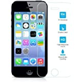 Tempered Glass Screen Protector Premium Ultra Thin 9H Hardness - iPhone 5S/5C/5