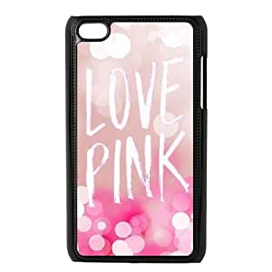 Love Pink Case for Ipod Touch 4,diy Love Pink case