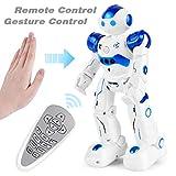 Rainbrace RC Robot for Kids Remote Control Robot Toys Programmable Robotics Boys Girls Toys 3-15 Years Old Birthday Gift