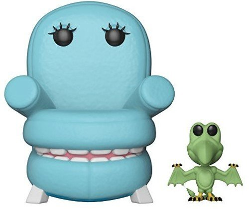 Funko POP! TV: Pee wee's Playhouse Chairry with Pterri Collectible Figure, Multicolor