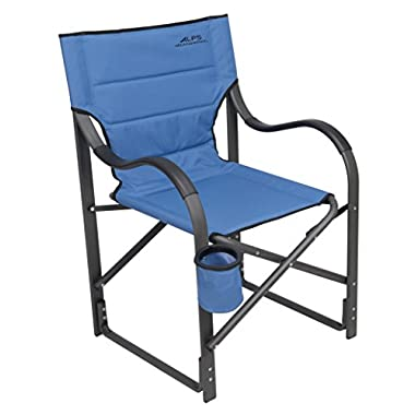 ALPS Mountaineering Folding Camp Chair with Pro-Tec Powder Coating Finish (Steel Blue)