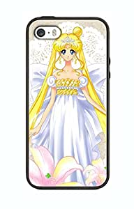 Sailor Moon Crystal Cartoon Design Case For Iphone 5 / 5s Silicone Cover Case SMC05