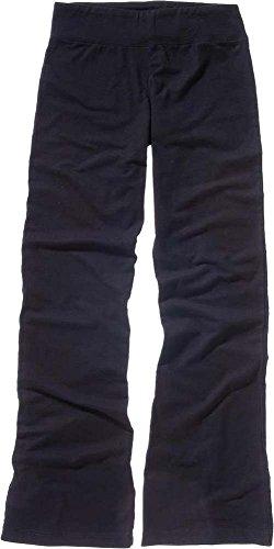Nueva Bella Lienzo Mujer Spandex algodón pantalones de fitness disponible en 2colores azul marino