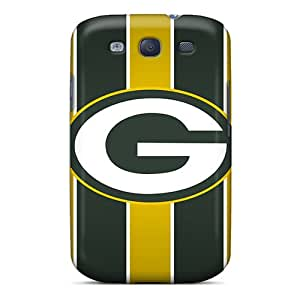 Tpu Case Cover For Galaxy S3 Strong Protect Case - Green Bay Packers Design