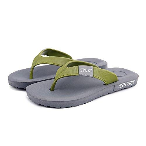 uomo da Grigio 42 2018 Scarpe da Grigio classico uomo EU Color infradito infradito infradito con Sandalo Dimensione Wq5R07pA5