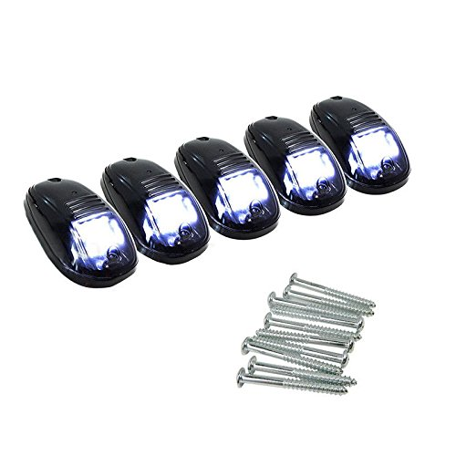 Adaptor Steam Trap (5Pc 12SMD T10 LED Roof Lamp Caution Warning Light Mark Light for 03-16 Dodge RAM)
