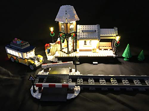 (brickled LED Light Kit for Lego 10259 Winter Village Station USB Powered)