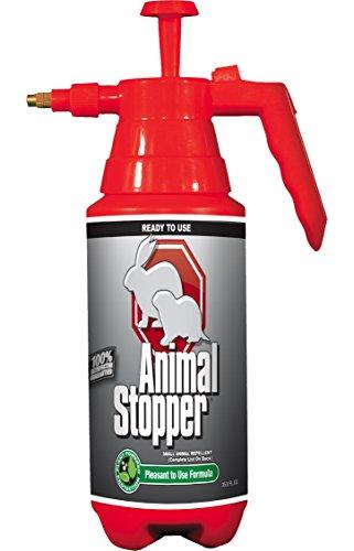 Rabbit Stopper (Messina Wildlife Animal Stopper Pump Bottle, 35.2 oz, Red)