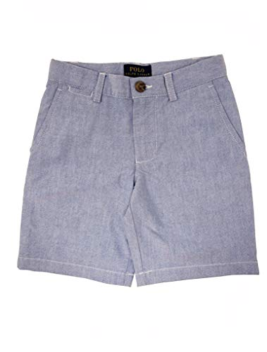 (Polo Ralph Lauren Little Boy's Prospect Flat Front Shorts, BSR Blue, Size 4)