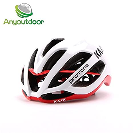 b8817e35ef5 Buy Generic White Red   kask protone Matte Black Bicycle Helmets Men Women  Helmet Back Light Mountain Road Bike Integrally Molded Cycling Size 54-61cm  ...