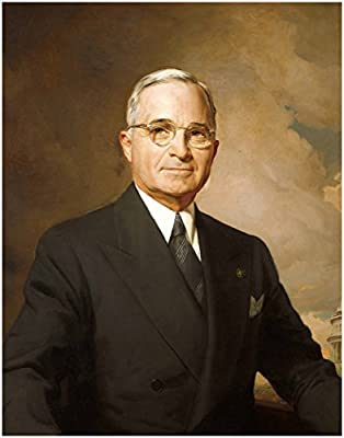 HARRY TRUMAN ~ Official Presidential White House Photo