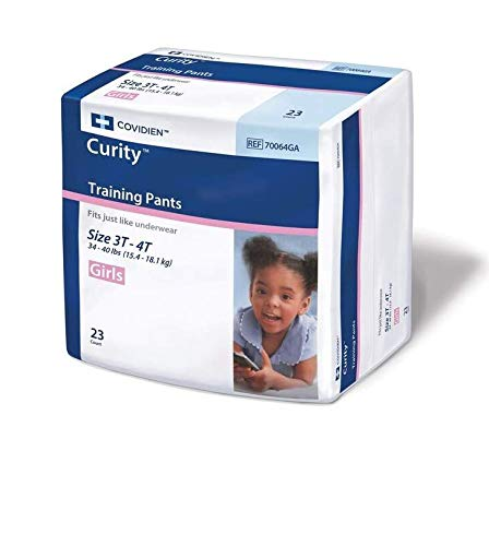 COVIDIEN Youth Training Pants Curity Pull On Large Disposable Heavy Absorbency (#70064GA, Sold Per ()