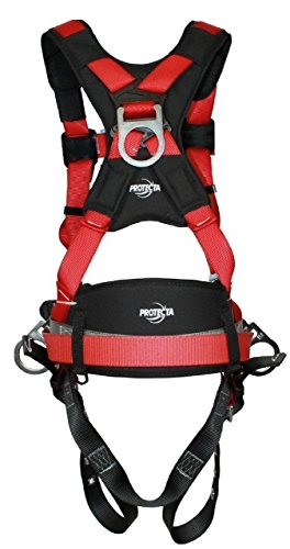 3M Protecta Pro Fall Arrest Kit with Back/Side D-Rings, Shoulder/Hip/Leg Padding, Pass Thru Buckle Chest and Tongue Buckle Legs (Small) by ProTecta (Image #1)