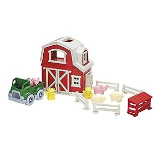Toy Farm Play Set by Eco Friendly Green Toys