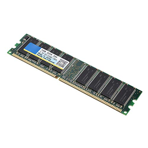 ASHATA DDR Memory, PC-2700 Desktop PC DDR 333MHz Memory Fast 1GB RAM 184Pin Memory Module,for AMD Motherboard