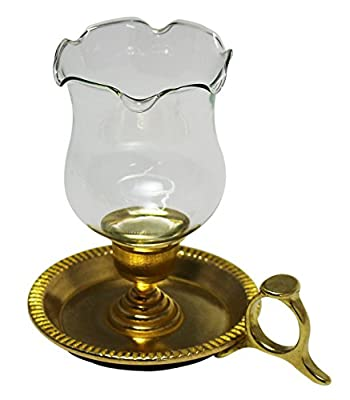 JustNile Iron Table-Top Lantern Candle Holder