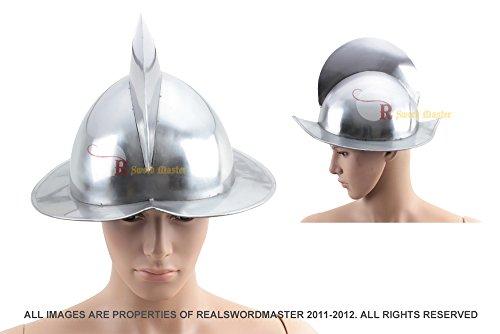 Spanish Conquistador Armor Costume (Swordmaster - Spanish Morion Helmet Medieval Conquistador Costume Armor SCA Brand New)