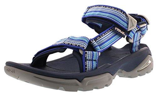 Teva Terra FI 4 Schwarz, Damen Sandale, Größe EU 36 - Farbe La Manta Black Damen Sandale, La Manta Black, Größe 36 - Schwarz