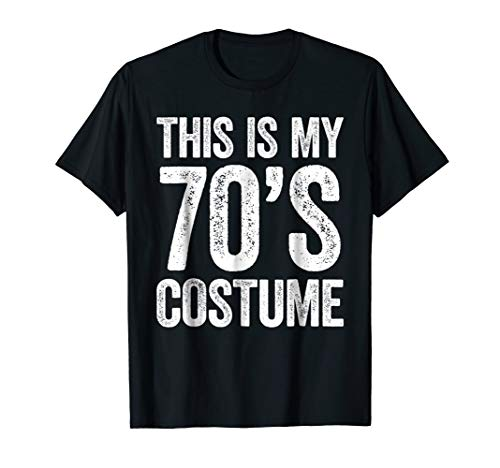 This Is My 70s Costume T-Shirt ()