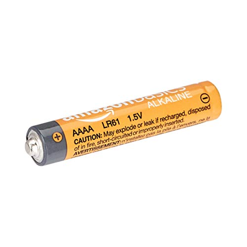 AmazonBasics AAAA 1.5 Volt Everyday Alkaline Batteries - Pack of 8 (Appearance may vary)