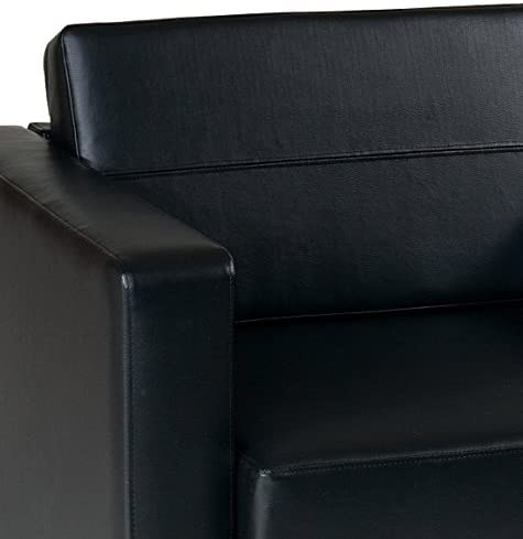 home, kitchen, furniture, living room furniture,  chairs 2 picture OSP Home Furnishings Pacific Arm Chair, Black deals