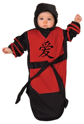 Rubie's Costume Tyke Or Treat Baby Bunting Costume Ninja Bab