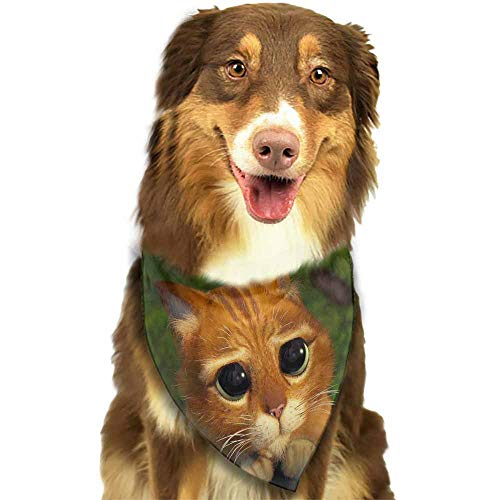 Pet Dog Bandanas,Dog Kerchief Accessories for Pet Dog Puppy Cat and More,Size:side-18