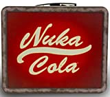 Fallout 4 Nuka World Lunchbox Replica! Tin Tote Plus Sticker Pack