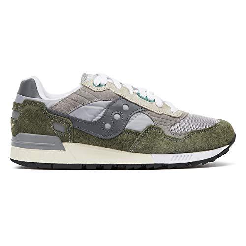 13 Saucony Verde green Vintage grey 5000 Shadow Para Hombre Zapatillas qqRzvT