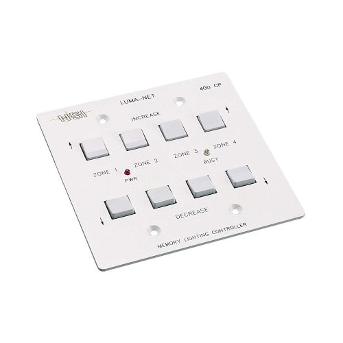 Leviton N0400-CP0 Remote Memory Control Panel with 4 Selectable Control Zones by Leviton