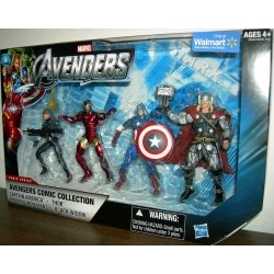 Marvel The Avengers Exclusive Comic Collection 4-Pack 01