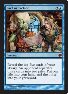 Magic: the Gathering - Fact or Fiction - From the Vault: Twenty - Foil
