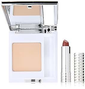 Clinique Super Powder Double Face Powder Travel Club Kit for Women, 2 Count