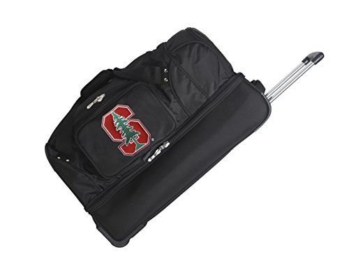 NCAA Stanford Cardinal Rolling Drop-Bottom Duffel by Denco