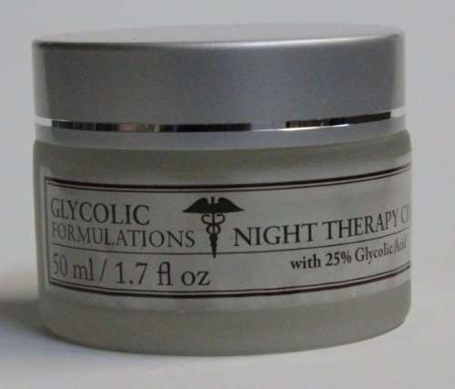 Glycolic Therapy - Glycolic Formulations Therapy Cream with 25% Glycolic Acid (50ml / 1.7oz) by Glycolic Formulations