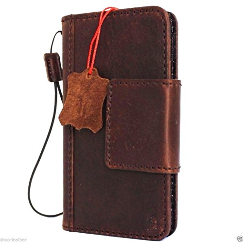 Genuine Vintage Italian Leather Safe Case For Iphone 6s