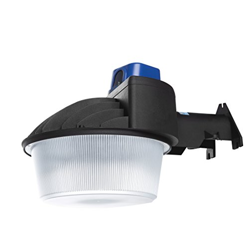 Security Area Light (Hyperikon Outdoor LED Barn Light Dusk to Dawn with Photocell, 80W (400W Equivalent) 5000K Crystal White 8000 Lumens Bright Security Area Light, IP65)