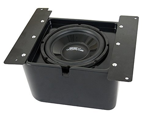 SSV Works Polaris Ranger 2013+ XP 10'' Amplified SubWoofer by SSV Works