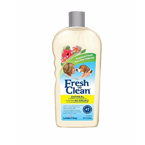 Fresh N Clean Oatmeal & Baking Soda Shampoo, 18 oz. (Lambert Kay Oatmeal)