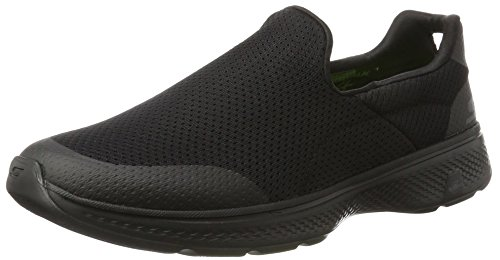 Skechers Performance Men's Go Walk 4 Incredible Walking Shoe, Black, 9.5 3E US