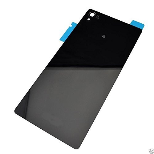 Housing Rear Back Battery Glass Cover Door For Sony Xperia Z3 D6603 D6633 SOL26 D6683 D6633 (black)