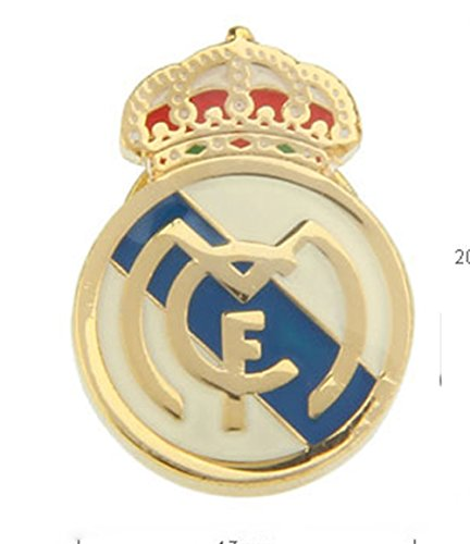 Williams and Clark Real Madrid Club de Fútbol Soccer Lapel Pin Tie (Football Lapel Pin)