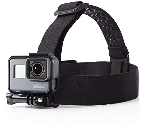 : AmazonBasics Head Strap Camera Mount for GoPro