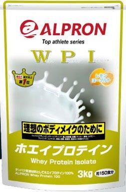 アルプロン WPIホエイプロテイン100 3kg プレーン味、タンパク質含有量約90%以上のプロテイン B00MDZ3GJM